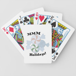 MMM Holidays! Bicycle Playing Cards