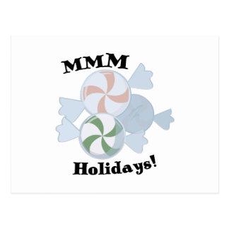 MMM Holidays! Postcard