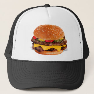 Mmmm Cheeseburger Trucker Hat