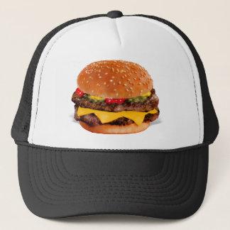 Mmmm Cheeseburger Trucker Hat
