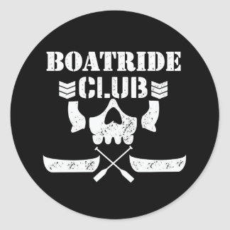 MMOM BOATRIDE CLUB Sticker