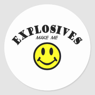 MMS: Explosives Round Sticker