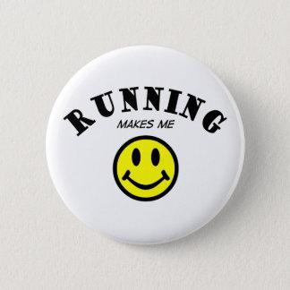 MMS: Running 6 Cm Round Badge