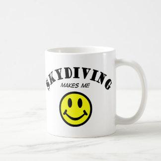 MMS: Skydiving Basic White Mug