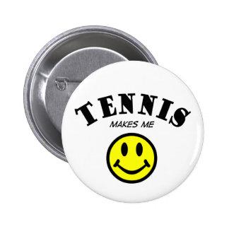 MMS: Tennis 6 Cm Round Badge