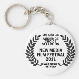 MMTVN Audience Choice Selection Basic Round Button Key Ring