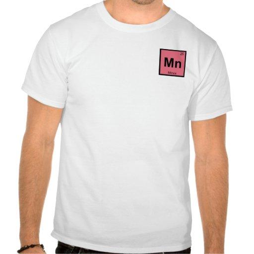 Mn - Minos Greek Chemistry Periodic Table Symbol Tshirt