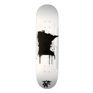 MN SprayPaint Skateboard