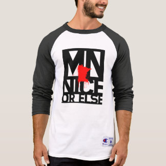 MNice or Else 3/4 Sleeved Shirt