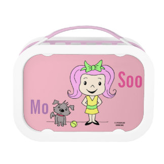 Mo and Soo girls Lunch box