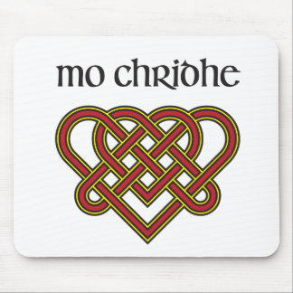Mo Chridhe - My Heart in Gaelic Mouse Pad