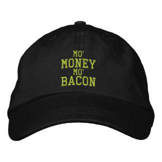 MO MONEY MO BACON Embroidered Cap Baseball Cap