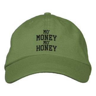MO' MONEY MO' HONEY Embroidered Cap Embroidered Baseball Cap