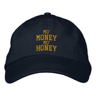 MO' MONEY MO' HONEY Embroidered Cap Embroidered Hats