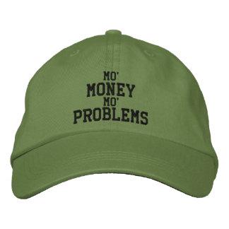 MO' MONEY MO' PROBLEMS Embroidered Cap Baseball Cap