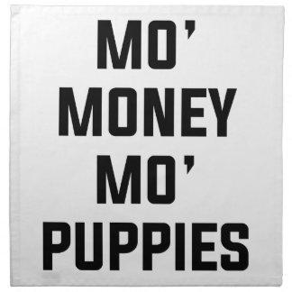 Mo Money Mo Puppies Napkin