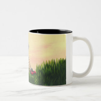 Mo' Mowing Two-Tone Coffee Mug