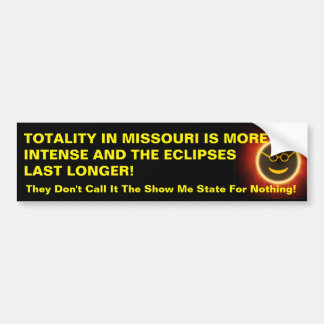 MO Totality Bumper Sticker