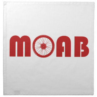Moab (Bike Wheel) Napkin