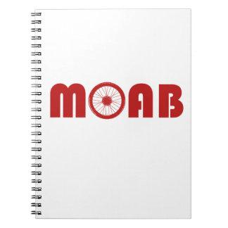 Moab (Bike Wheel) Spiral Notebook