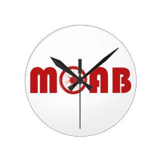 Moab (Bike Wheel) Wall Clock