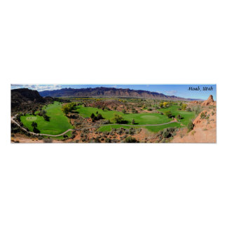 Moab Golf Course - Utah Poster