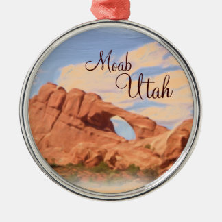 Moab Utah arch rock scenic ornament