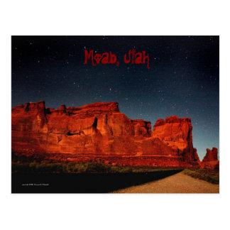 Moab, Utah Postcard