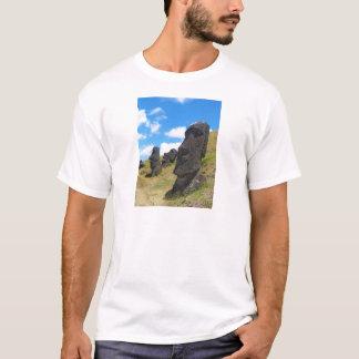 Moai at Rano Raraku Easter Island T-Shirt
