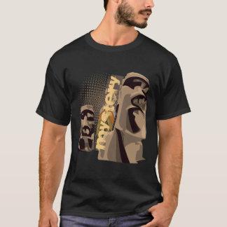 Moai - Black T-Shirt