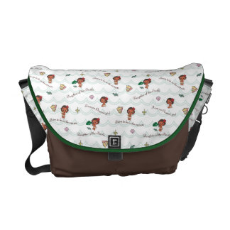 Moana | Born to be in the Ocean Pattern Messenger Bags
