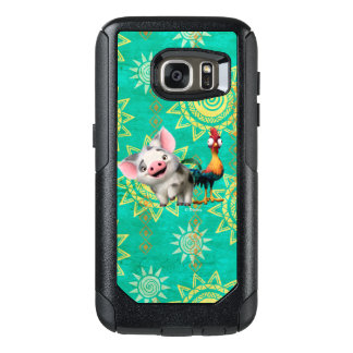 Moana   First Mate & Top Rooster OtterBox Samsung Galaxy S7 Case