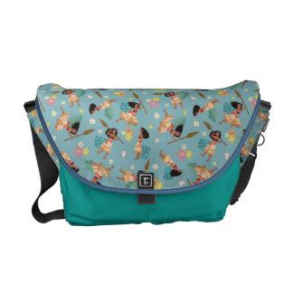 Moana | Floral Pattern Commuter Bag