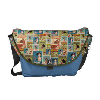 Moana | Retro Poster Pattern Courier Bag