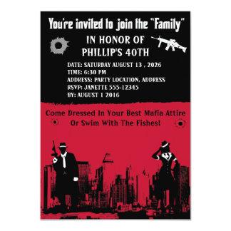 Mob Party 11 Cm X 16 Cm Invitation Card