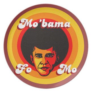 Mo'bama Collectible Plate