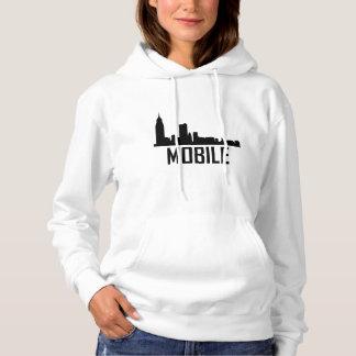 Mobile Alabama City Skyline Hoodie