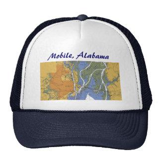 Mobile, Alabama Nautical Harbor chart hat