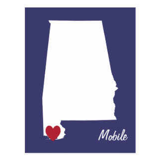 Mobile Alabama Postcard