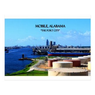 MOBILE, ALABAMA - The Port City Post Cards