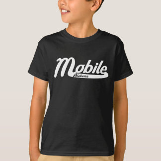 Mobile Alabama Vintage Logo T-Shirt