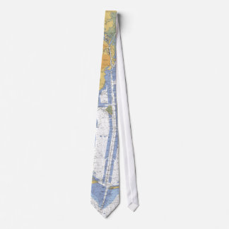 Mobile Bay, Alabama Nautical Harbor Chart Tie