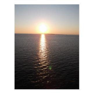 Mobile Bay Sunset Postcard