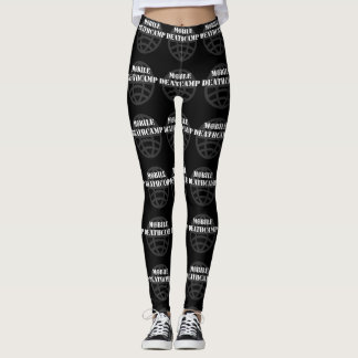 "Mobile Deathcamp ""Globe"" leggings"