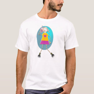 Mobile Girl T-Shirt