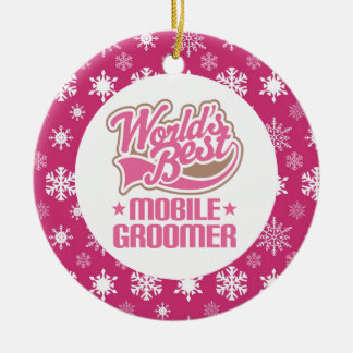 Mobile Groomer Ornament Gift