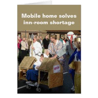 Mobile home Christmas card