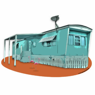 Mobile Home Cutout Magnet Photo Sculpture Magnet