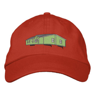 Mobile Home Embroidered Hats