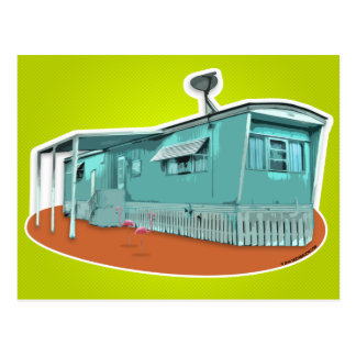 Mobile Home Postcard